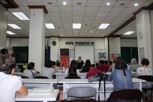 training local partner organizations
