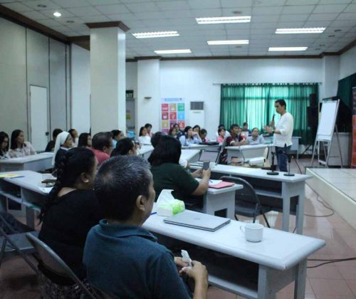 Workshop conducted at the NORFIL Training Center