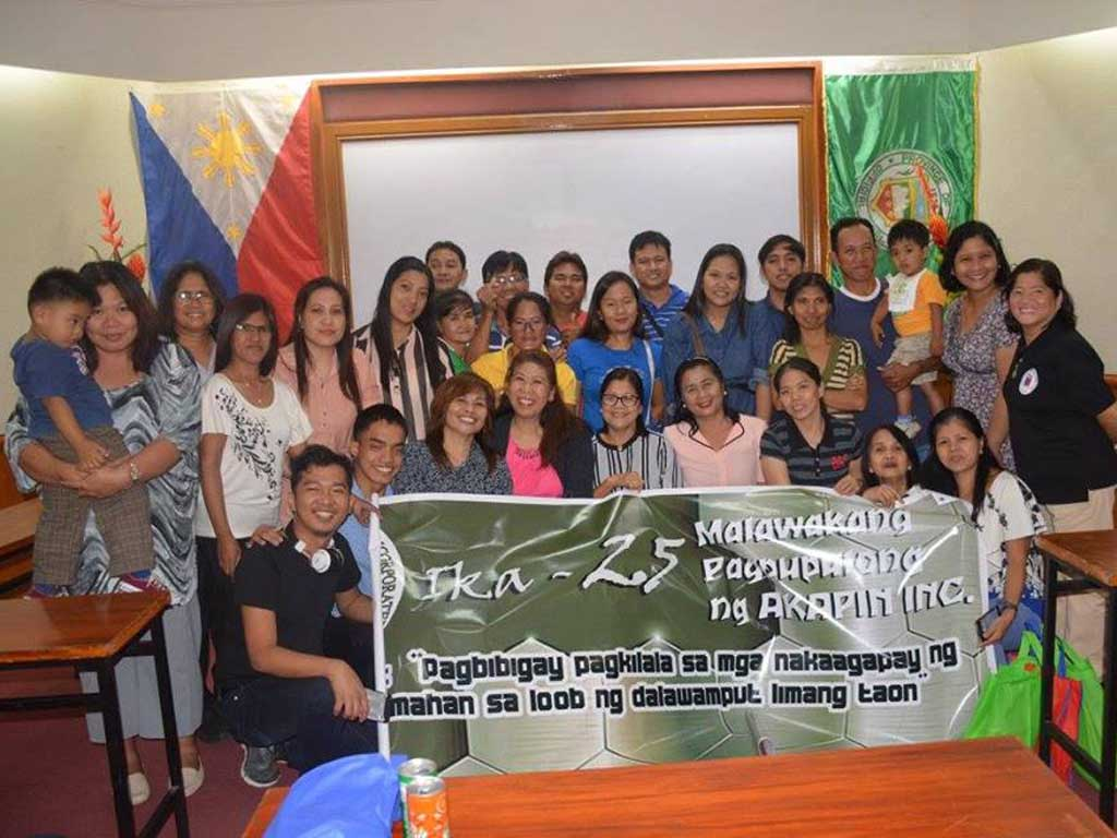 group photo of Akapin Bulacan during their twenty-fifth general assembly