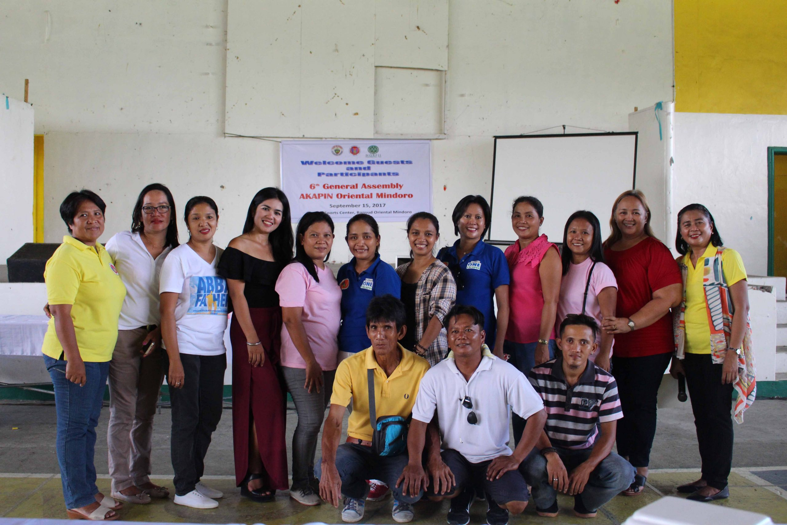 Group photo taken during the sixth general assembly of AKAPIN Oriental Mindoro